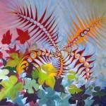 Abstract (natuur), 2013, Olieverf op doek, 50X60 cm